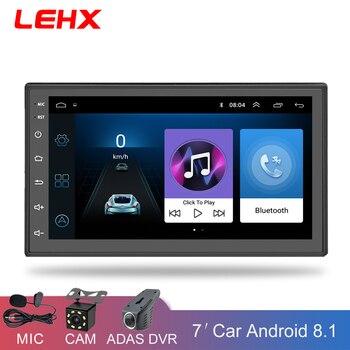 Autoradio Con Bluetooth | 2 Din Auto Radio Player Android 8.1 Universale Autoradio Lettore Multimediale Di Navigazione GPS Per Nissan Toyota Hyundai Polo