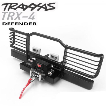 1/10 rc crawler model car metal front bumper assembly for 1:10 scale traxxas trx4 defender remote control toys truck