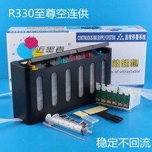 Универсальный 6 видов цветов Система непрерывной подачи чернил снпч комплект с полной аксессуары оптом чернильницы для epson T60 R330 СНПЧ принтер