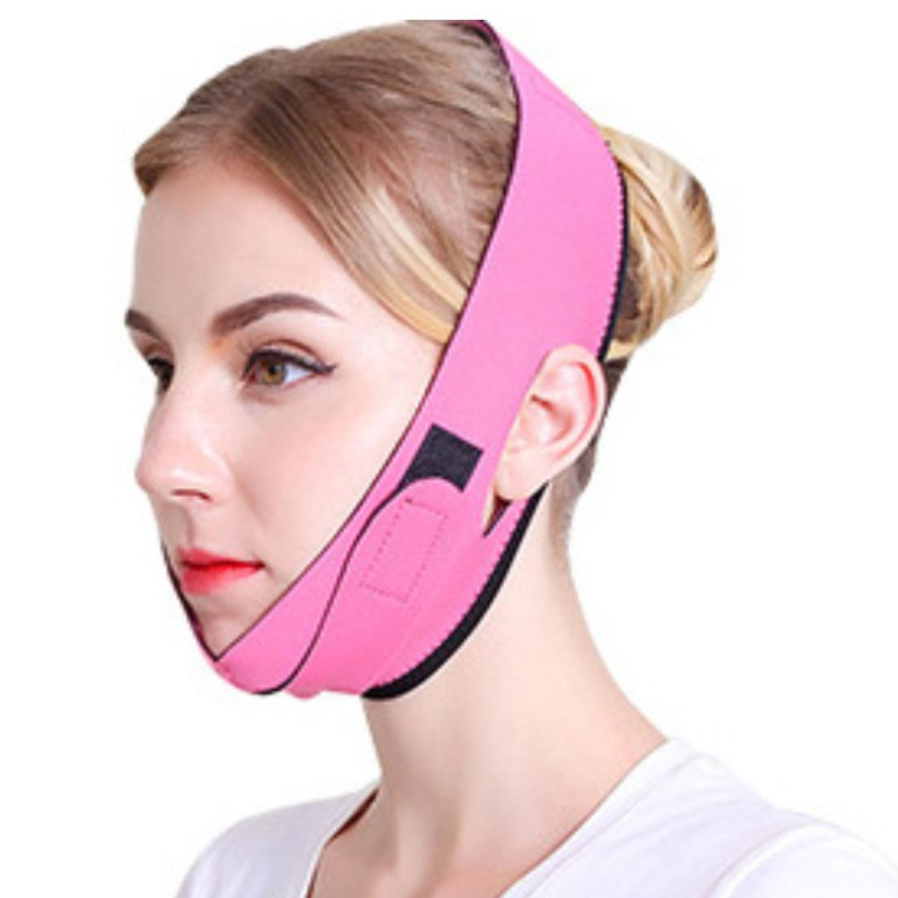 Face Lift-up Tightening Shaper Mask V Cheek Chin Slimming Band Women Beauty Tool
