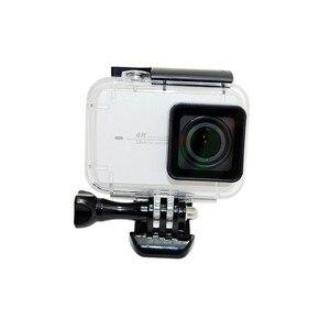 Image 2 - Anordsem di Immersione Subacquea 40m Impermeabile per il Caso di Xiaomi YI 4 k/4 k +/yi lite Camera Mount custodia protettiva Caso