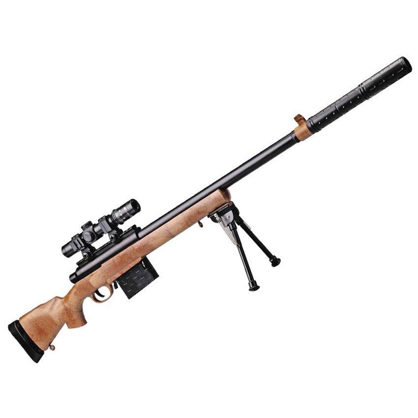 Chaude Eva2king M24 Jouet Rifle Guns Avec Brun et Gris Orbeez Manuel Sniper Fusils Armas Silah Pour Enfants En Plein Air CS jeux Cadeaux