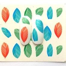 4 Designs Nail Sticker Set Decal Water Transfer Slider For Nails Art Decor B21/B22/B23/B24