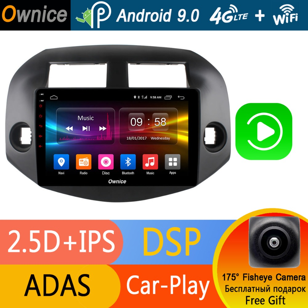 Octa 8 Core 10 1 IPS Android 9 0 Car Radio Player GPS 4GB RAM 32GB