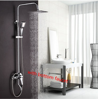 Dofaso бренд лучшее качество дождь смеситель для душа Ванная комната Ванна Носик Душ Arm Клапан смесителя душевой кран