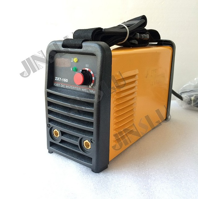 IGBT DC Inverter MMA welding equipment ARC160 ARC-160 (ZX7-160) welder with 3M earth clamp & 3M earth electrode holder