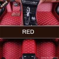 Custom Car Floor Mats For BMW 3 series 1998 2018 E46 E90 E93 F30 F31 F34 Waterproof 3D Car Mats Interior Accessories 7 Color