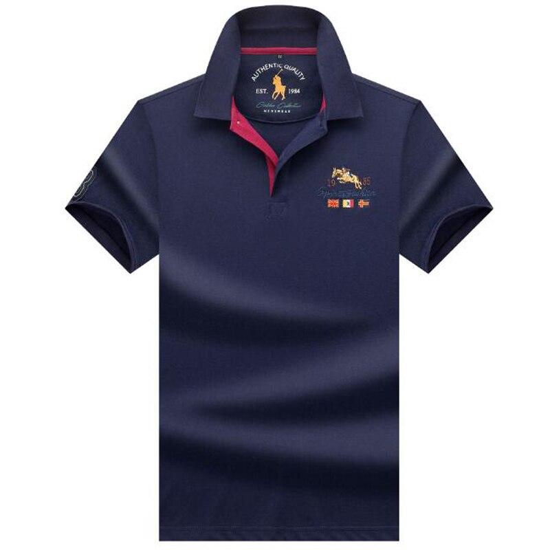 2019 new   polos   High quality brand cotton men   polo   shirt Casual solid shirt   polo   men camisa   polo   para hombre Branded clothing