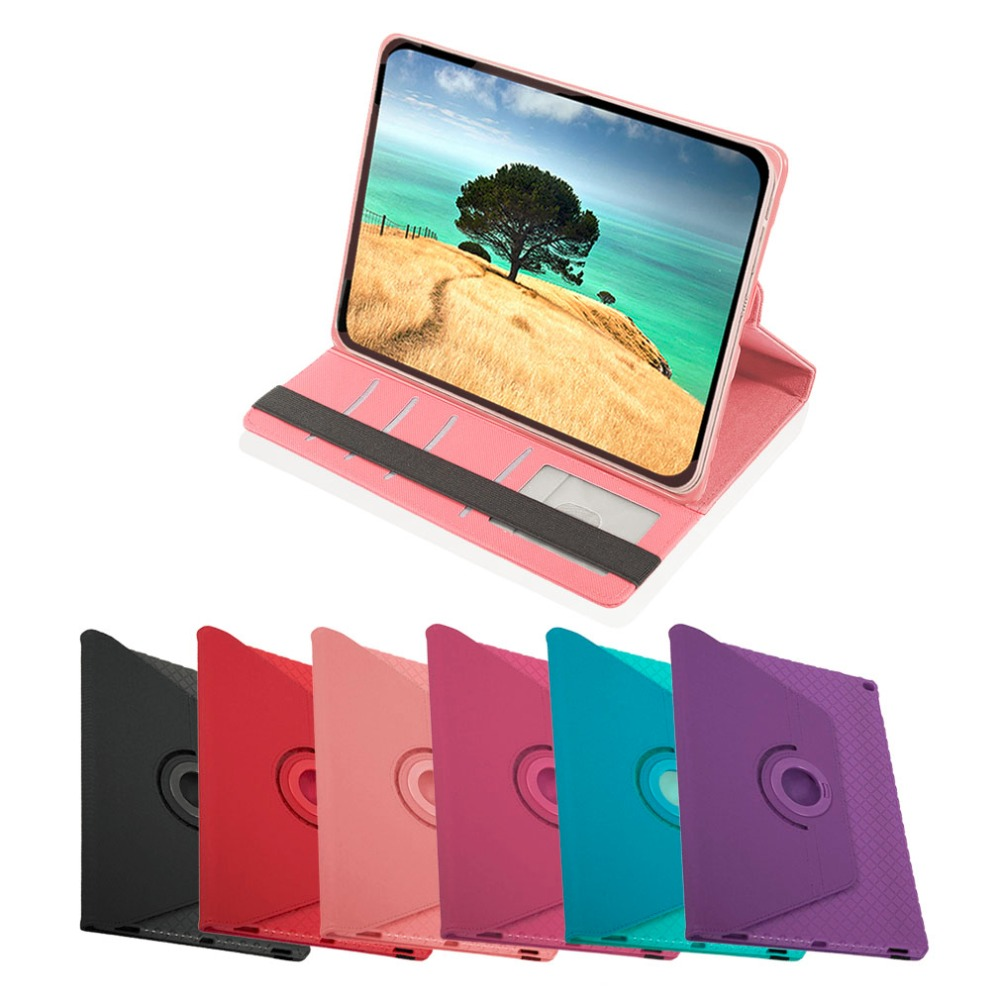Shockproof Soft PU Leather Tablet Cover Case Tablet Stand Cover With 360 Degree Rotation Suitable For Ipad Pro 12.9