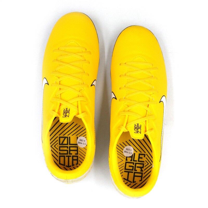 Оригинальный Новое поступление 2018 NIKE VAPOR 12 ACADEMY NJR AG R Для Мужчин's Обувь для футбола футбольные бутсы кроссовки - 4