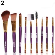 Superior 9pcs Makeup Cosmetic Brushes Eyeshadow Eye Shadow Foundation Blending Brush July 29