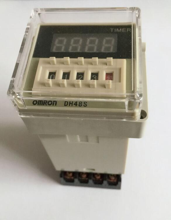 Digital display time relay DH48S DH48S-1Z electric delay timery 0.01S-9999H 8PIN with base time relay h5cn xbn z