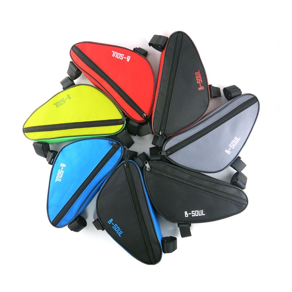 Triangular Mountain Bike Tools Bag Riding Bag Frame Bag Bicycle Tube Bag