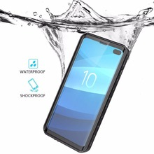 Original For Galaxy S10 Plus Waterproof case Shock Dirt Snow Proof Protection With Touch ID Case Cover for Samsung Galaxy S10 for galaxy s8 plus case shock dirt snow proof protection for samsung galaxy s8 with touch id cover