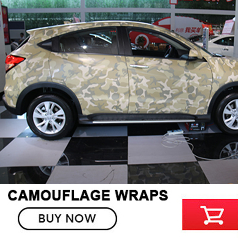 Desert Camouflage Vinyl Wrap Sheet Sticker Roll Adhesive Desert Camo Vinyl Decal Bubble Free Size: 5x98FT /Roll leopard camo car wrap sticker bomb vinyl leopard camouflage vinyl sticker size 1 50 30m roll