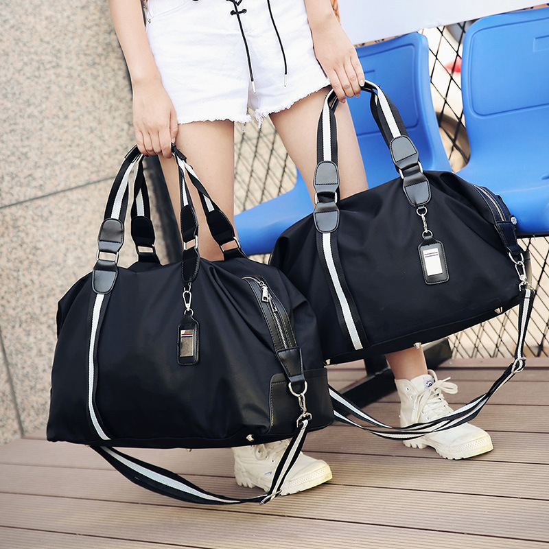 01682b85a4b4 Detail Feedback Questions about 2017 New Women Men Travel Bags Fashion  Striped Men Luggage Travel Duffle Bags Small Travelling Bag Mochilas  Deportivas on ...