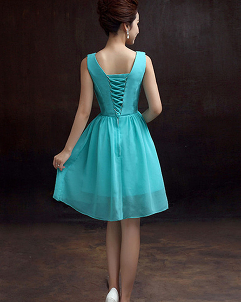 Cute simple turquoise bridesmaid dresses chiffon short bridesmaid cute simple turquoise bridesmaid dresses chiffon short bridesmaid dresses cheap bridesmaid dresses under 50 in bridesmaid dresses from weddings events on ombrellifo Images