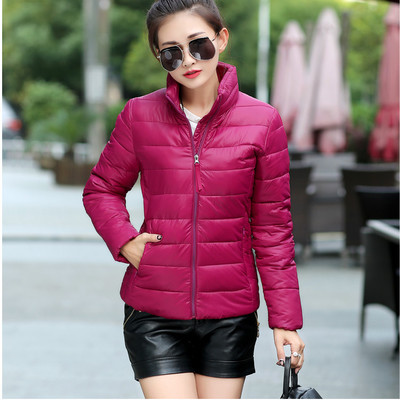 2016 Fashion Autumn Winter NEW Women Cotton Coat short section Jacket Parkas Casual Jackets cotton coat Big Size M-4XL