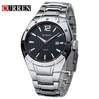 CURREN 8103 Luxury Brand Stainless Steel Strap Analog Display Date Men S Quartz Watch Casual Watch