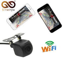 Sinairyu New Tech Mini WiFi Car Back Up Camera Waterproof Rear View Camera Easy Installation Convenient to Use