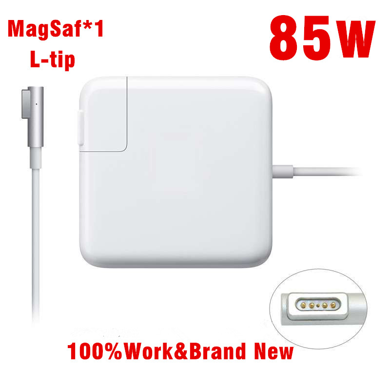 NEW! Replacement 85W MagSaf* Laptop Power Adapter Chargers (L tip) For Apple MacBook Pro 15'' 17'' A1175 A1222 A1260 A1286 A1343