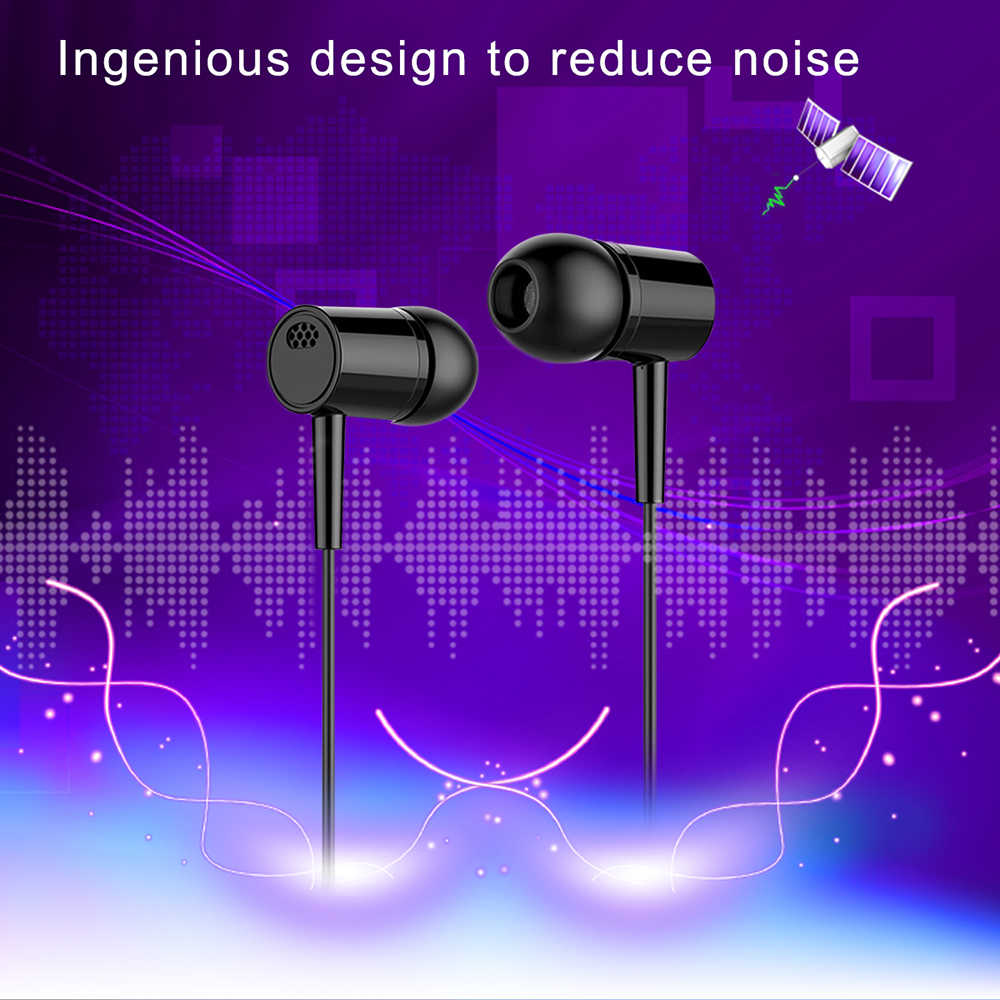 Pc Gaming Headset none Bluetooth Stereo Headphones with Microphone HiFi Sport Earphone Cable for Iphone Pc / Laptop Tablet