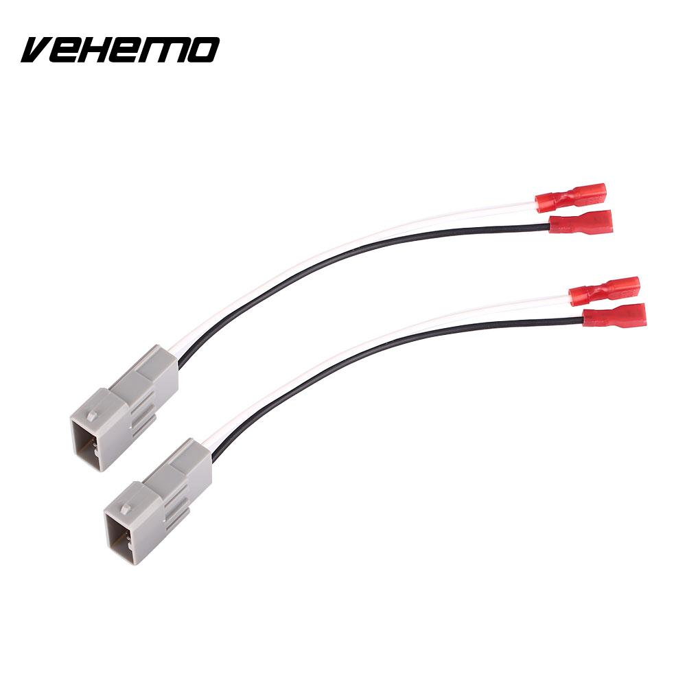 medium resolution of 2pcs car audio auto speaker connector install wiring wire harness adapter 72 7800 cable horn car accessories for honda accord