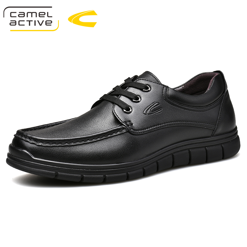Camel Active New Men Genuine Leather Casual Shoes Breathable lace-up Footwear Business Adult Moccasins Male Shoes Chaussure HomeCamel Active New Men Genuine Leather Casual Shoes Breathable lace-up Footwear Business Adult Moccasins Male Shoes Chaussure Home
