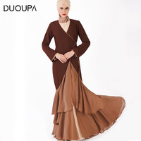 DUOUPA 2019 High end New Explosion Models Open cut Dress Middle Eastern Muslim Robes Kimono