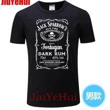 Men's Tshirt Cool Pirates Of The Caribbean Jack Sparrow Captain T Shirt