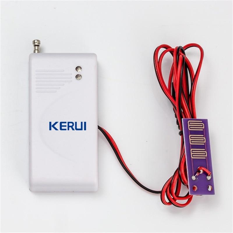 433 Mhz detector de intrusión de agua inalámbrico sensor de fugas trabajo para GSM PSTN sms casa Alarmas de seguridad sistema