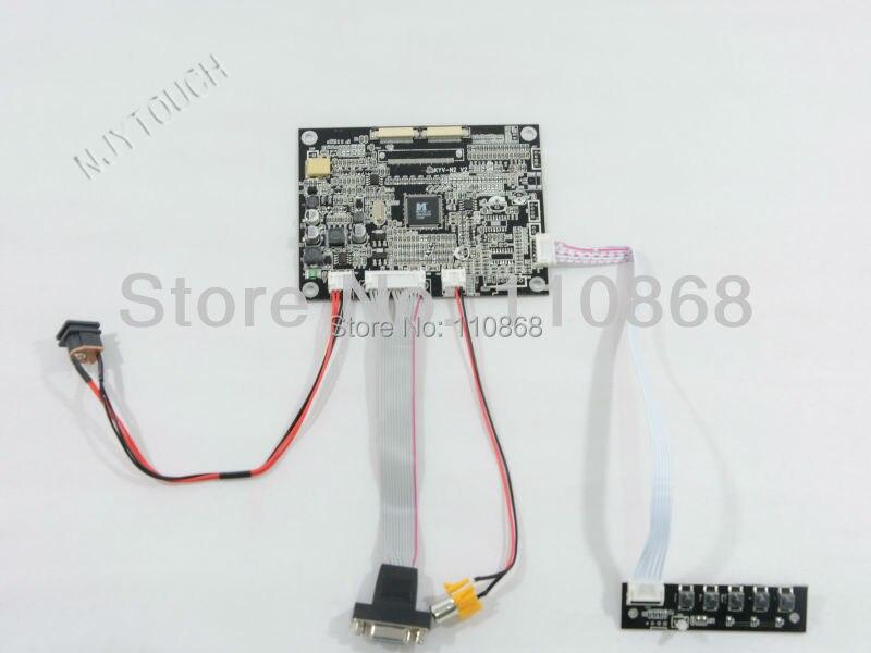 все цены на  VGA AV LCD Controller Board KYV-N2 V2 for 7