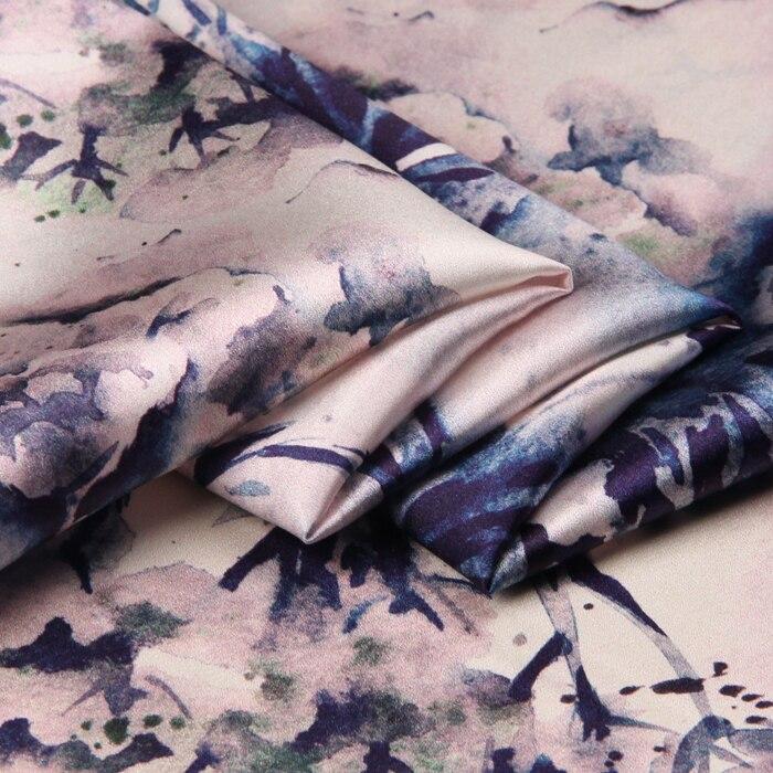 118cm πλάτος 19mm 93% μετάξι & 7% spandex floral - Τέχνες, βιοτεχνίες και ράψιμο - Φωτογραφία 4