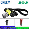 Z30 led Flashlight 50m Diving Headlight Waterproof Head cree XML-T6 LED 2800 Lumen Headlamp Underwater Lamp Battery charger dive