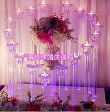 Сердце sharp акриловые свадьбы центральным с синей подсветкой, свадебный декор/56 высокий