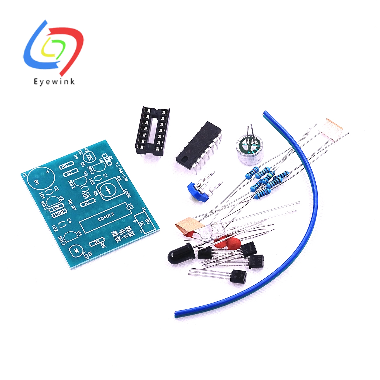 Analog Electronic Candle Making Kit Ignition + Blowing Control Simulation Candle Fun Electronic Production Of Spare Parts