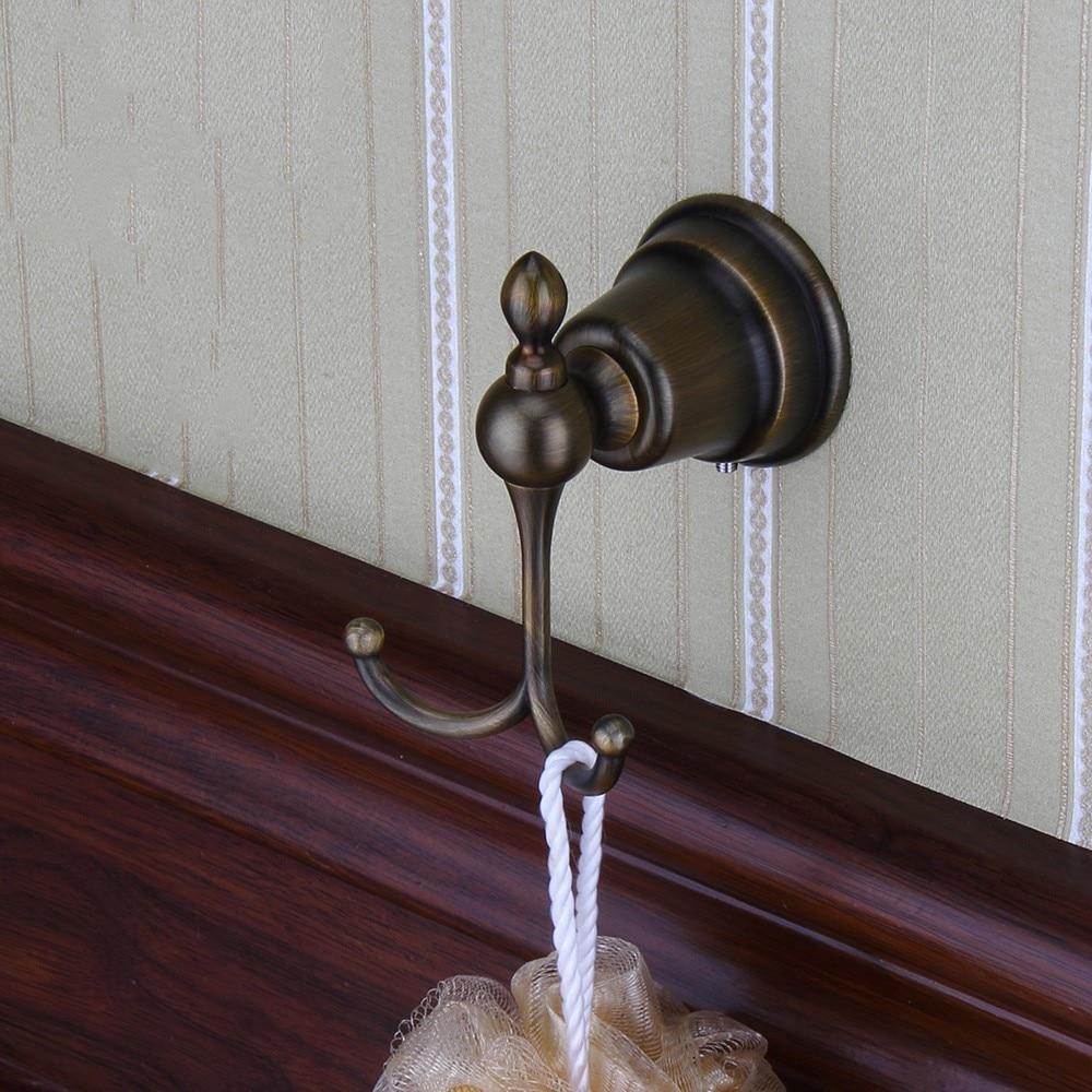 Antique Art manteau crochet simple serviette/Robe vêtements crochet pour bain cuisine Garage résistant contemporain hôtel Style mural