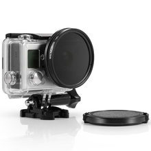 Underwater Waterproof Camera Housing Case & Filter Kit for GoPro Hero4 and Hero3+ Cameras(China)
