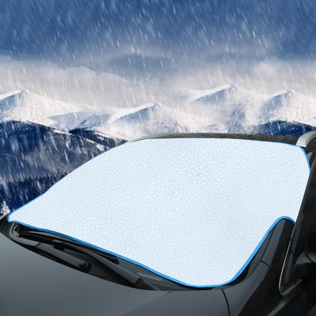 Чехол на лобовое стекло автомобиля Солнцезащитная шторка переднее заднее окно автомобиль грузовик лобовое стекло крышка Анти снег/Мороз/лед протектор# YL1