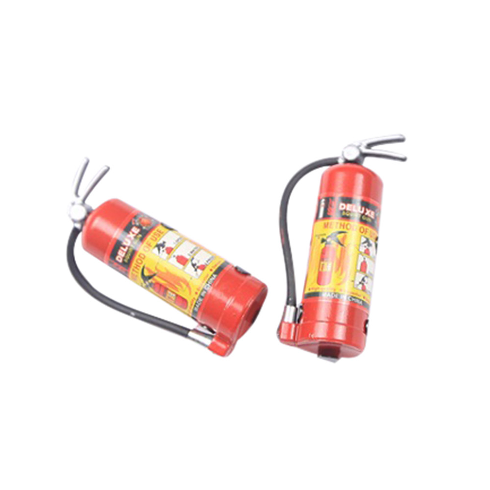 1/10 RC Crawler Accessory Parts Fire Extinguisher Model For Axial SCX10 TRX4 Brushless Motor Fpv Servo  Tamiya Mini 4wd Trx4