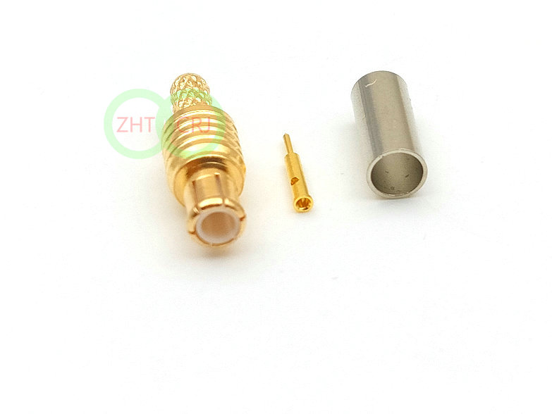 MCX male straight RF Connector crimp for RG316 RG174 RG178 Cable adapter wholesale
