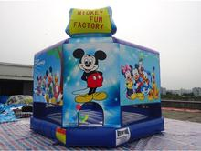5X5M Cheap Inflatable Mickey Bouncer for Kids/Inflatable Mickey Mouse Bounce House for sale