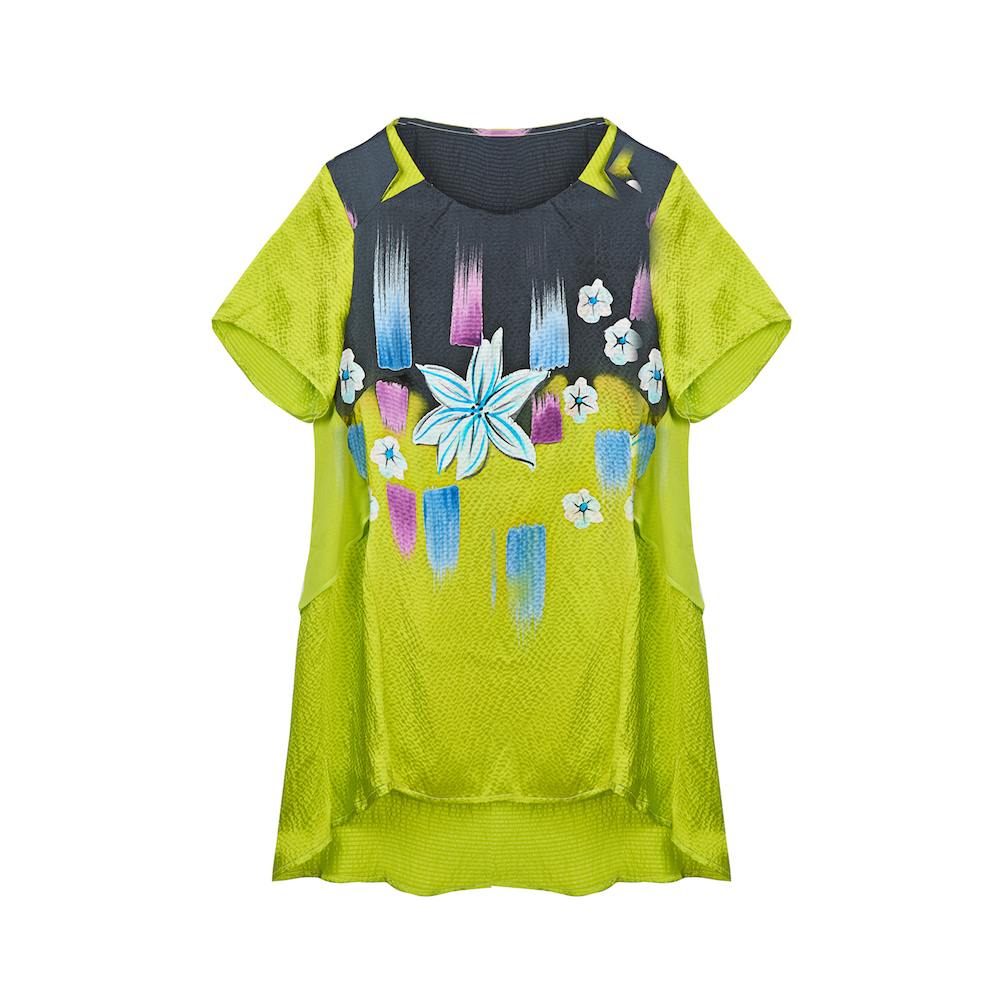 Soft Satin 2018 Fabric 03 Bohemian Style Women 02 Free Top Desigual 01 New 100 Blouse Shirt Size Autumn Summer Silk Plus Shipping C5aqwt