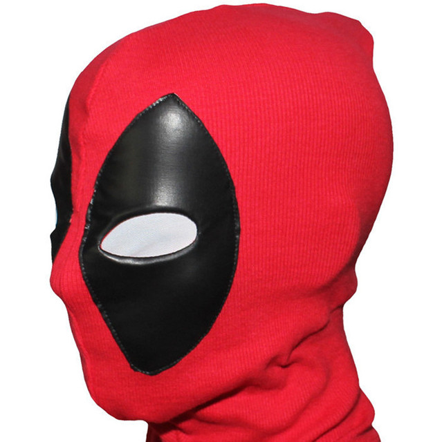 Riding PU Deadpool Mask Balaclava Costume accessories Outdoor Halloween Cosplay kids adults man women party mascaras masque