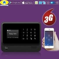 الذهبي الأمن الأجنبية رو الاب es se nl tr للتحويل لاسلكي المنزل نظام إنذار الأمن wifi gsm 3 جرام gprs app التحكم عن diy عدة