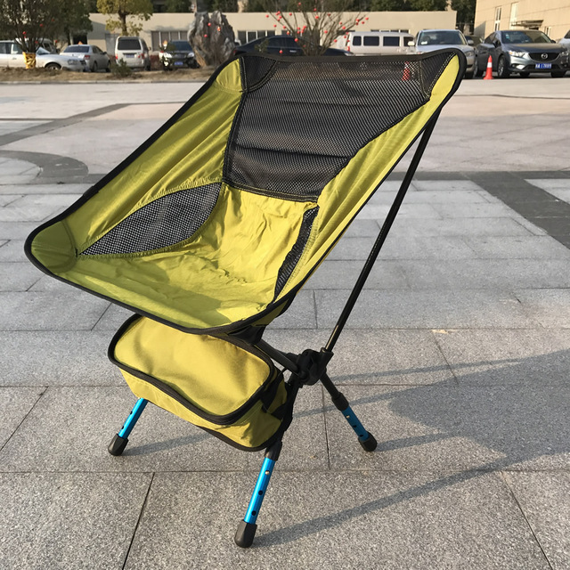 Folding Campstool Fishing chair 7075 Aviation Aluminium Outdoor Camping Hiking Picnic Garden Chair BBQ camp Stool Folding Seat