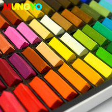 MUNGYO MPS 64/48/32/24 colors soft pastels Colored Chalk DIY Hair dyed color make up ART drawing paint(China)