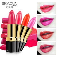 2018 BIOAQUA 10 colors Charm of kissing lipstick moisturizing batom long lasting lip gloss makeup batons