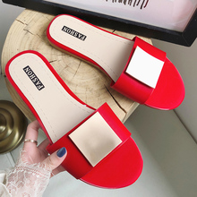 2019 New Fashion Ladies Slippers Summer Flat Slipper Women Slides Beach Flip Flops Outdoor Indoor Shoes Woman zapatos de mujer