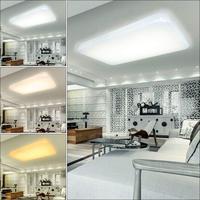 Design moderno 30 W 60 W LED Montado luz de Teto Lâmpadas de iluminação Interior luminária de Acrílico Quadrado sala de estar Quarto Corredor Luzes de teto     -